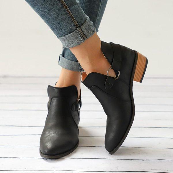 Chaussures à boucles LOOP Minute Mode Noir 35