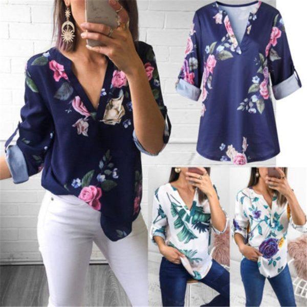 product image 789358679 Blouse Florale Tendance