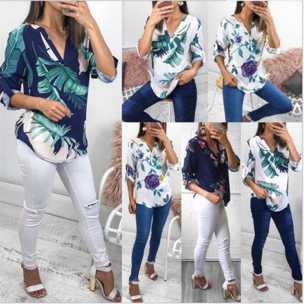 product image 789358680 Blouse Florale Tendance