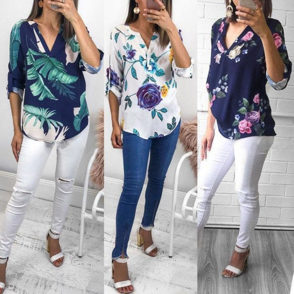 product image 789358681 Blouse Florale Tendance