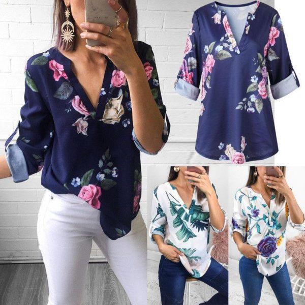 product image 789358682 Blouse Florale Tendance