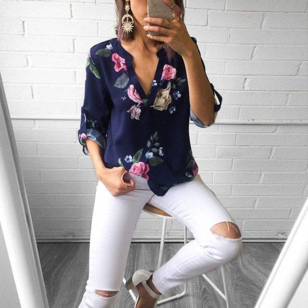 product image 789358688 Blouse Florale Tendance