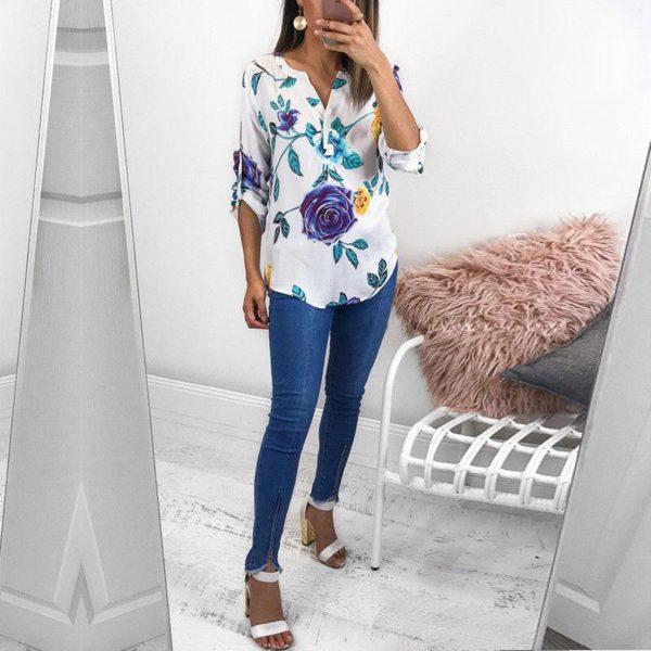 product image 789358711 Blouse Florale Tendance