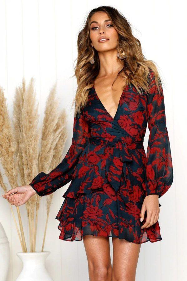 product image 790899669 Robe Fleurie Décolletée