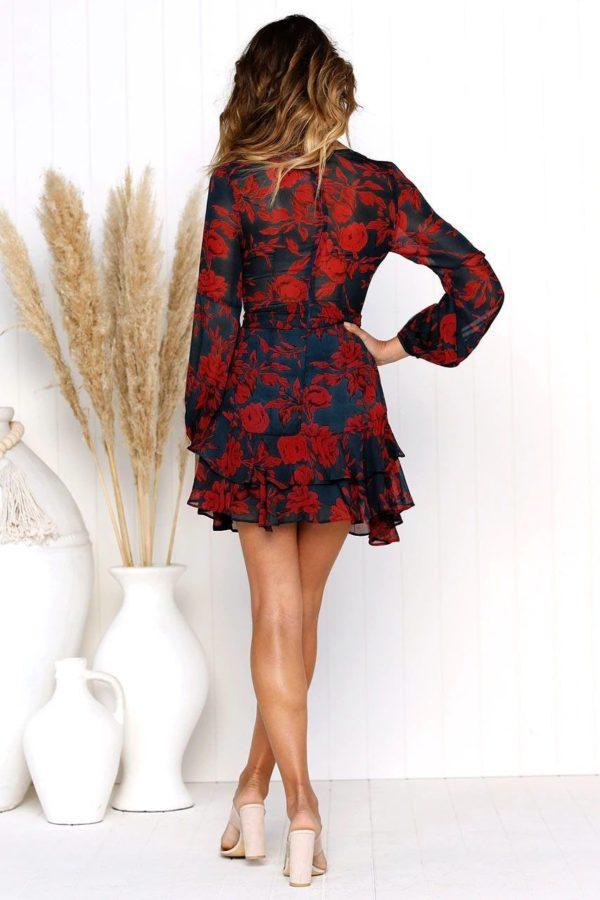 product image 790899671 Robe Fleurie Décolletée