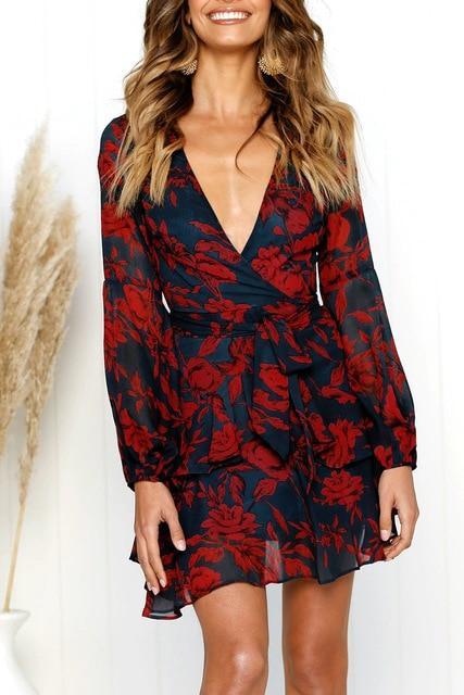 product image 790899674 Robe Fleurie Décolletée