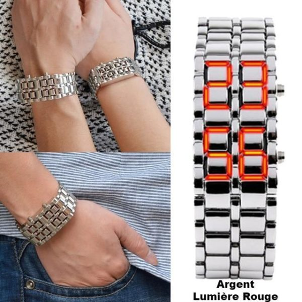 product image 801178388 Montre - Bracelet 2 En 1