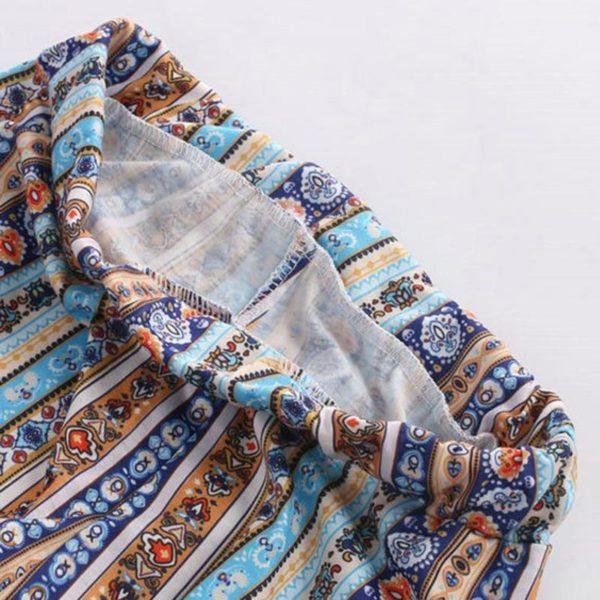 product image 805780523 Pantalon Ample À Motifs