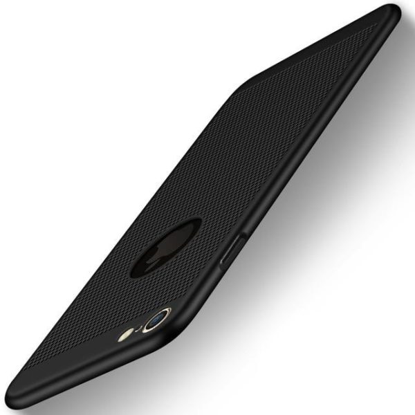 Coque ultra fine avec dissipateur de chaleur pour iPhone raton-malin Noir iPhone 5 5s SE