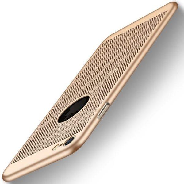 Coque ultra fine avec dissipateur de chaleur pour iPhone raton-malin Doré iPhone 5 5s SE