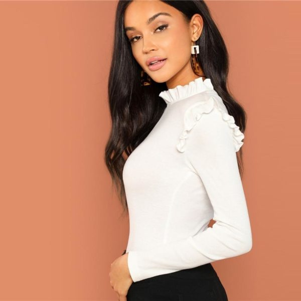 product image 817089265 Blouse Blanche Tendance 2020