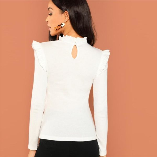 product image 817089266 Blouse Blanche Tendance 2020