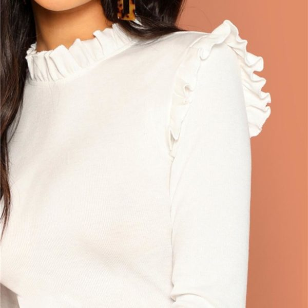 product image 817089267 Blouse Blanche Tendance 2020