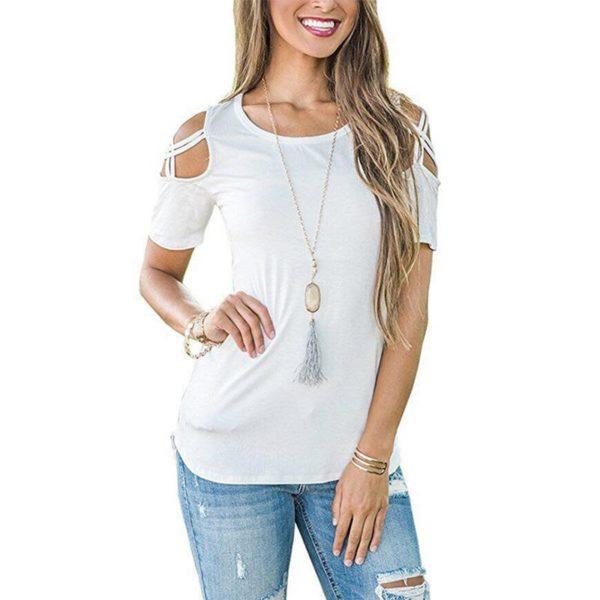 product image 823586500 T-Shirt Epaules Dénudées