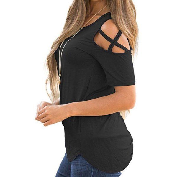 product image 823586509 T-Shirt Epaules Dénudées