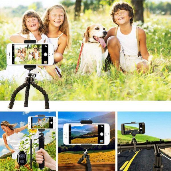 product image 851237513 Trépied Flexible Avec Déclencheur À Distance