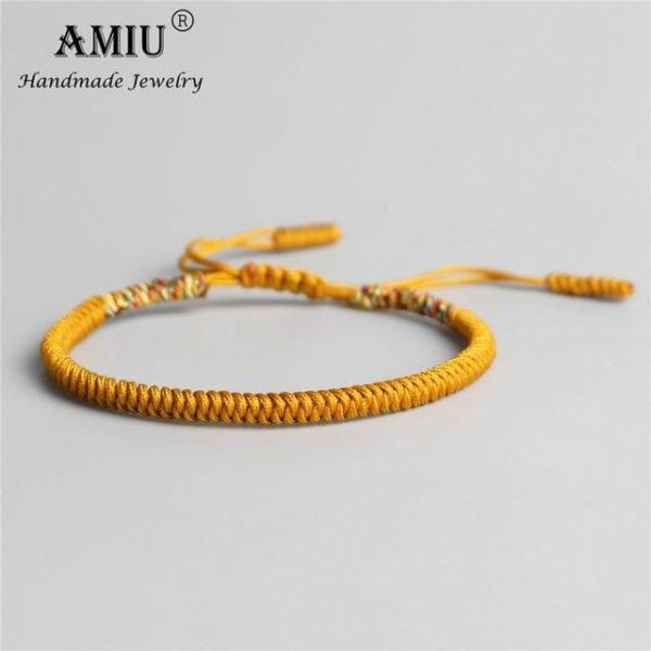 product image 853437533 Bracelet De Cordes Tibétain Fait À La Main