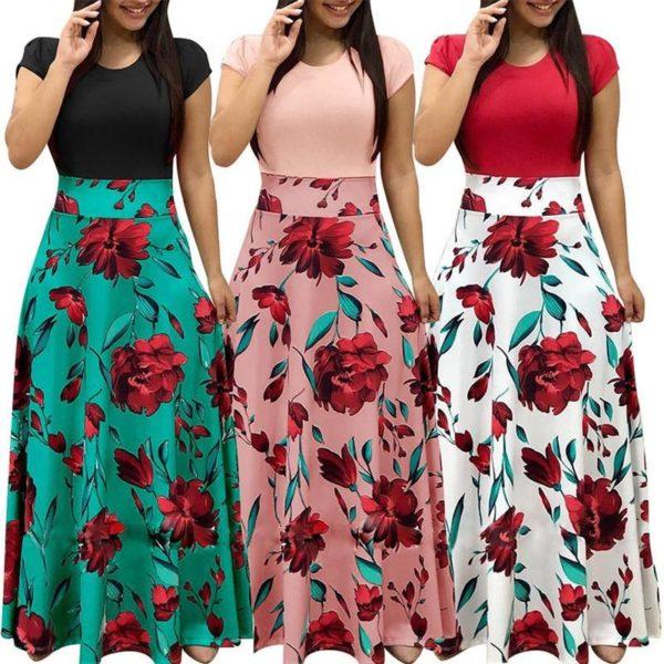 product image 858591432 Robe Longue Florale