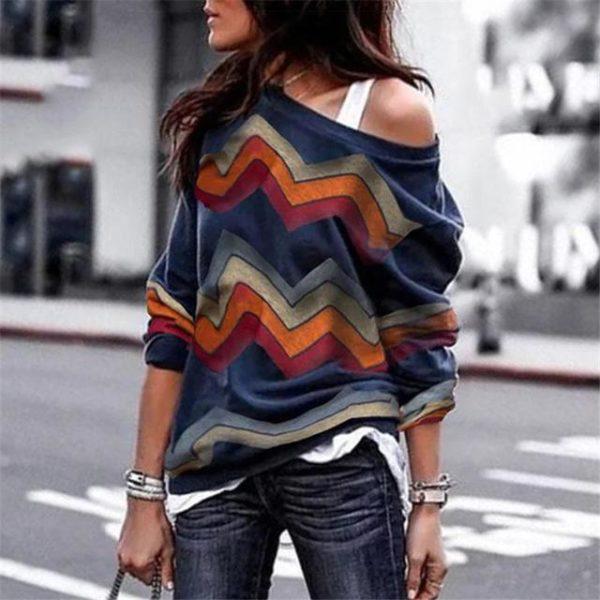 product image 860454498 Blouse Zigzag Colorée