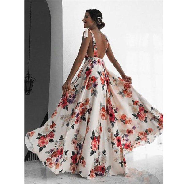 product image 868235927 Sublime Robe Longue Florale