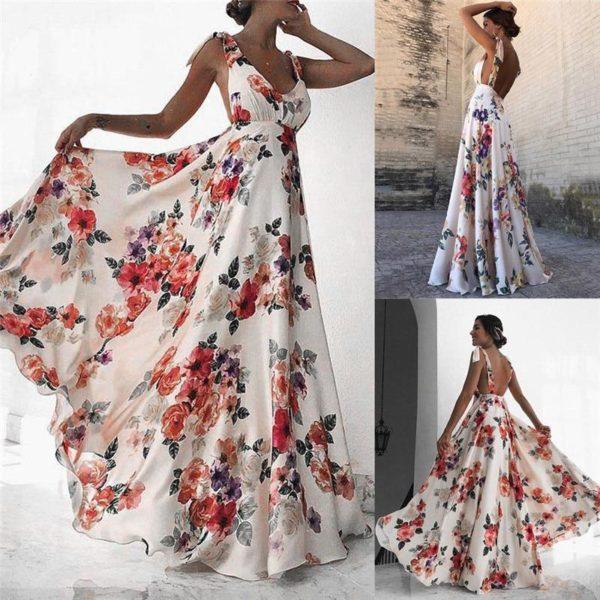 product image 868235931 Sublime Robe Longue Florale