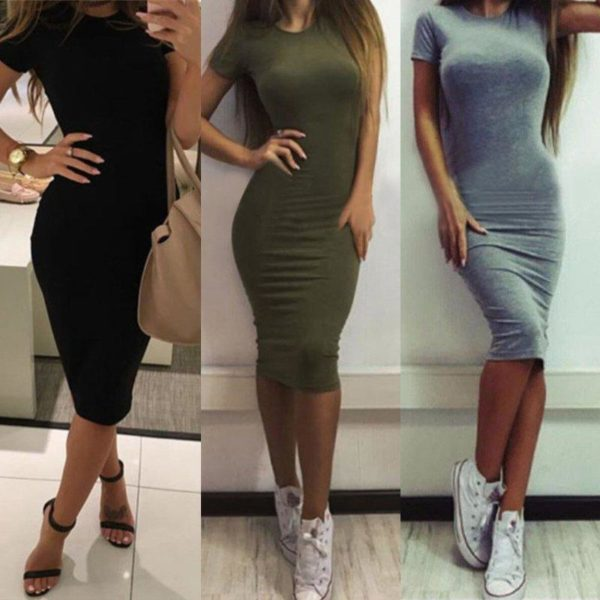product image 868352111 Robe Tendance Manches Courtes