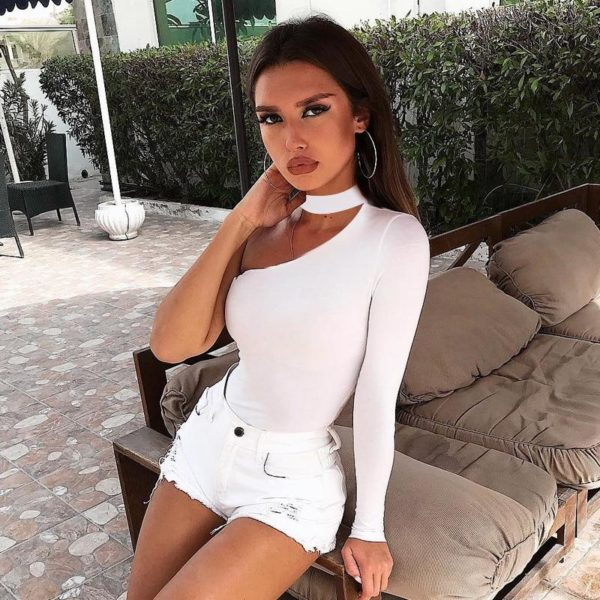 product image 874239282 Body One Shoulder À Col Choker