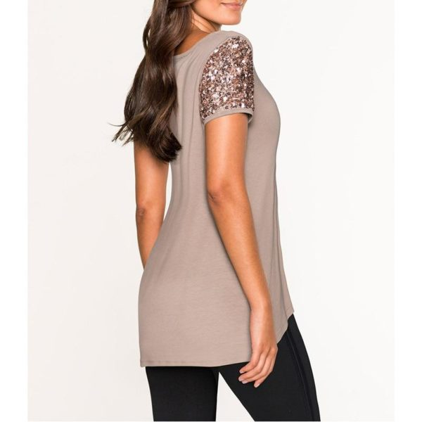 product image 884772997 Blouse Manches Sequins