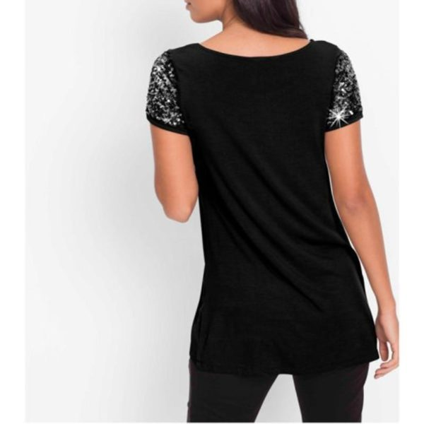 product image 884773019 Blouse Manches Sequins