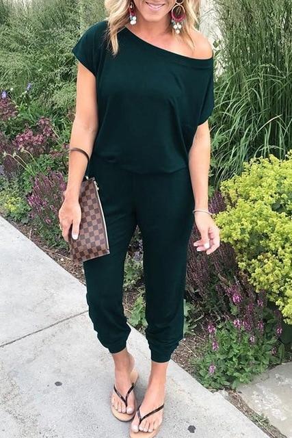 Combinaison Fashion et Élégante Minute Mode Vert foncé S