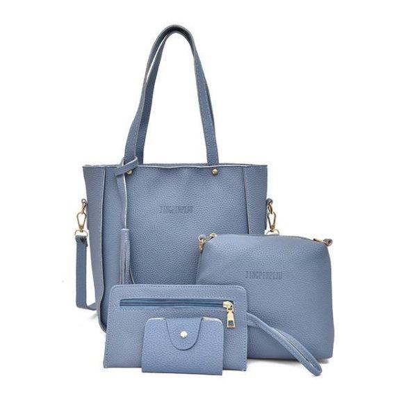 Sac à Main et Autres accessoires - Kit Complet Minute Mode Bleu (20cm