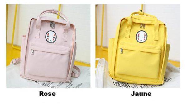 product image 918410299 Sac Couleur Pastel Avec Tête Kawaii