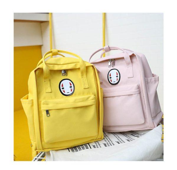 product image 918410311 Sac Couleur Pastel Avec Tête Kawaii