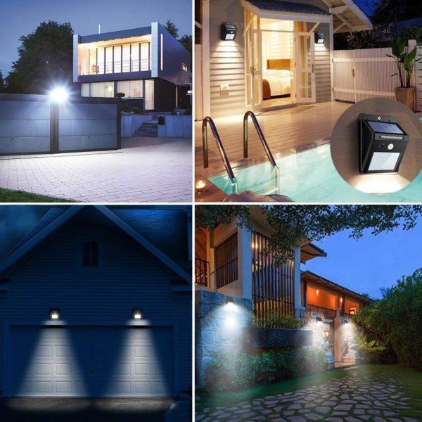 product image 922359563 Lampe Solaire Avec Capteur De Mouvement (Lot De 3)