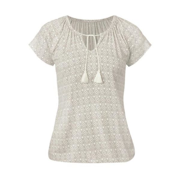 product image 924342767 T-Shirt Boho À Cordons