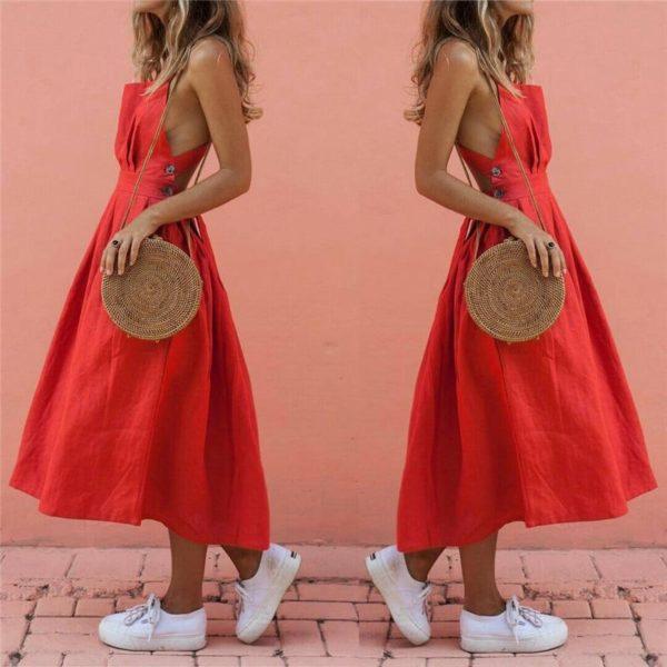 product image 932388723 Superbe Robe Rouge