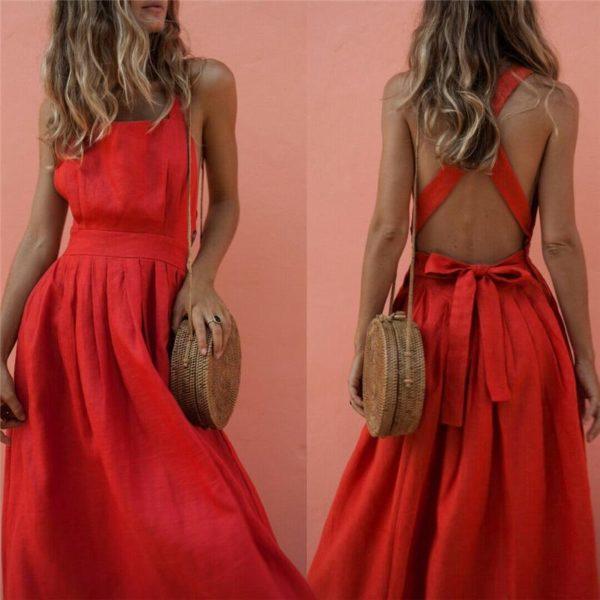 product image 932388724 Superbe Robe Rouge
