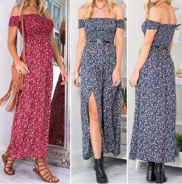 product image 947613499 Robe Longue Estivale 2020