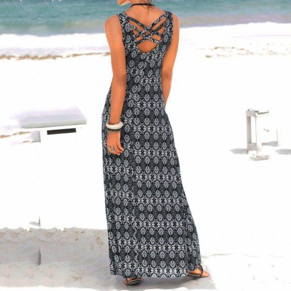 product image 961510511 Robe Longue Imprimé Boho