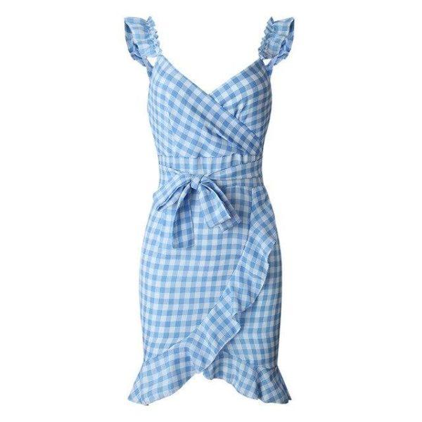 product image 971566739 Petite Robe À Carreaux