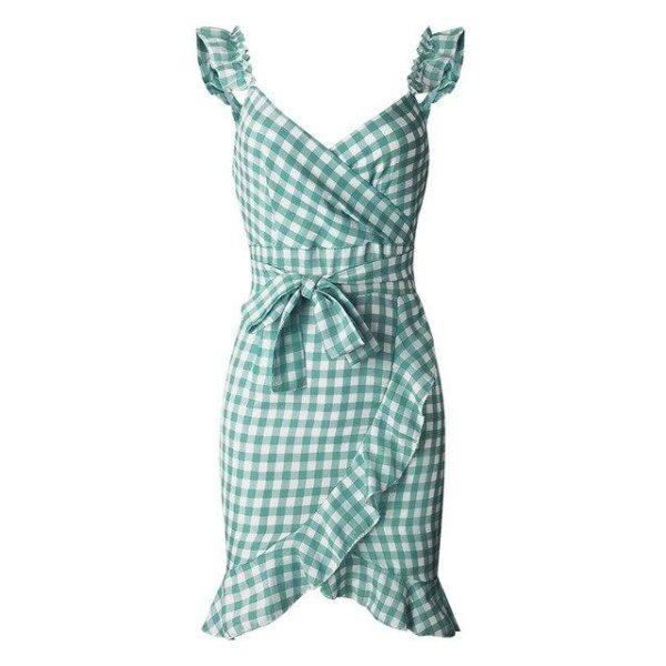 product image 971566741 Petite Robe À Carreaux