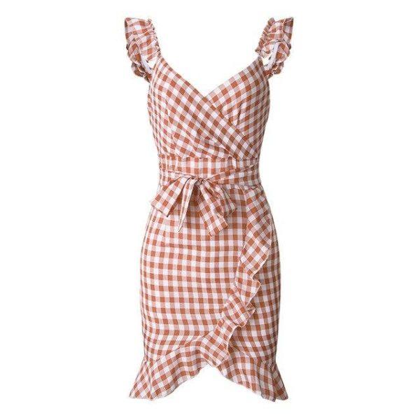 product image 971566743 Petite Robe À Carreaux