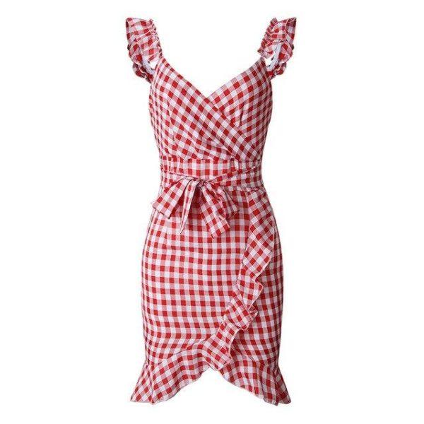 product image 971566745 Petite Robe À Carreaux