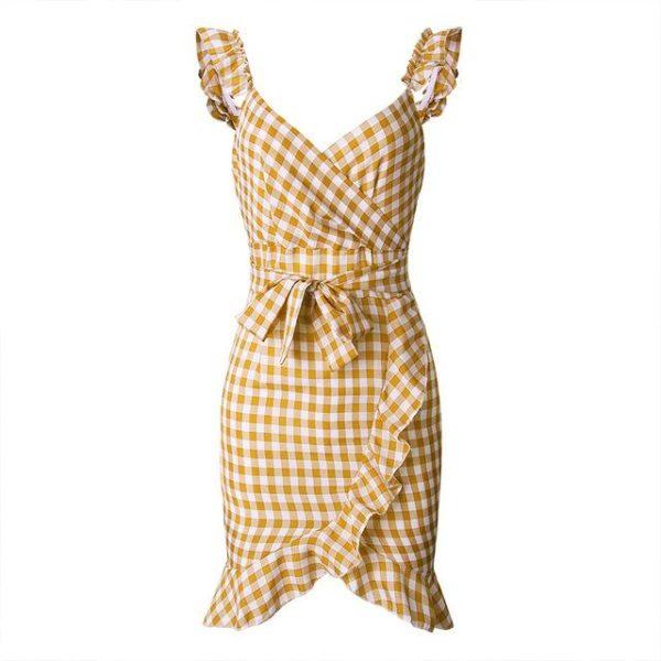 product image 971566747 Petite Robe À Carreaux