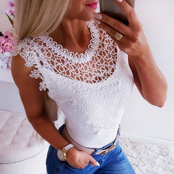 Haut Féminin 2019 Minute Mode Blanc L