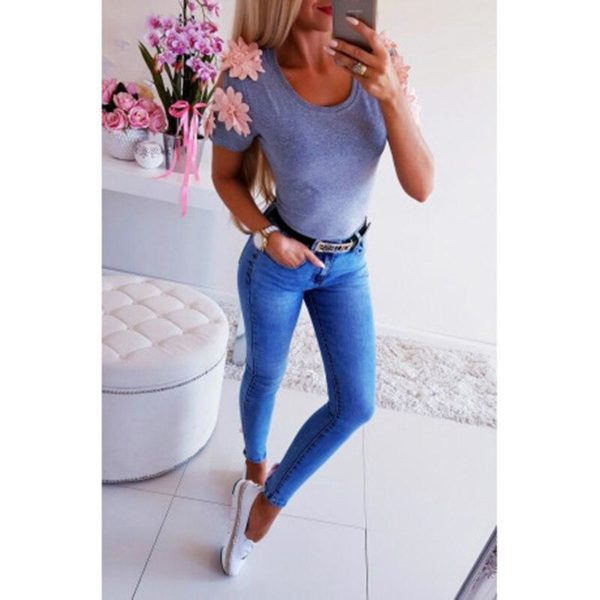 product image 988137350 Blouse Manches Fleuries