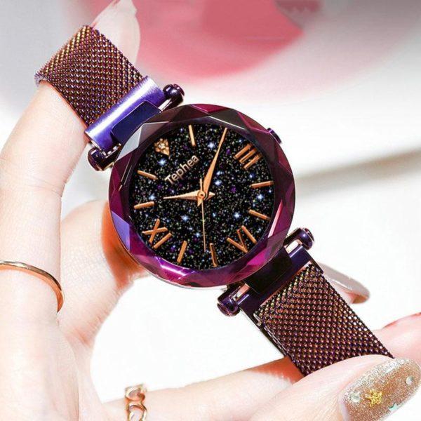 Montre Luxueuse Tephea™ Minute Mode Violet