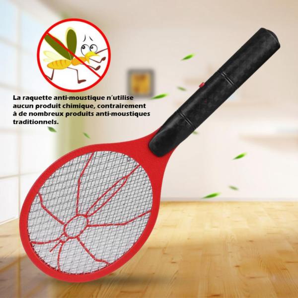 raquetteelectriquepuissante La Raquette Électrique Anti Moustique À Utilisation Sans Fil