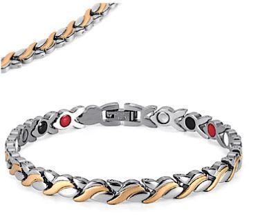 Bracelet Magnétique 4 en 1 Raton Malin Argenté