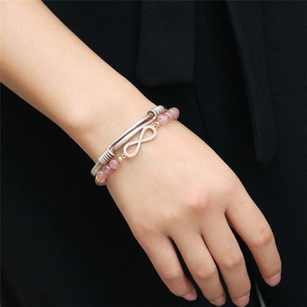 raton 5 5ee47cef 0442 47d4 871b 94cb222ccff8 Bracelet De Guérison En Quartz Rose